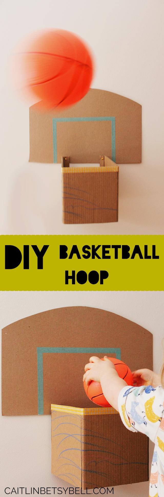 Caitlin Betsy Bell | DIY Basketball Hoop