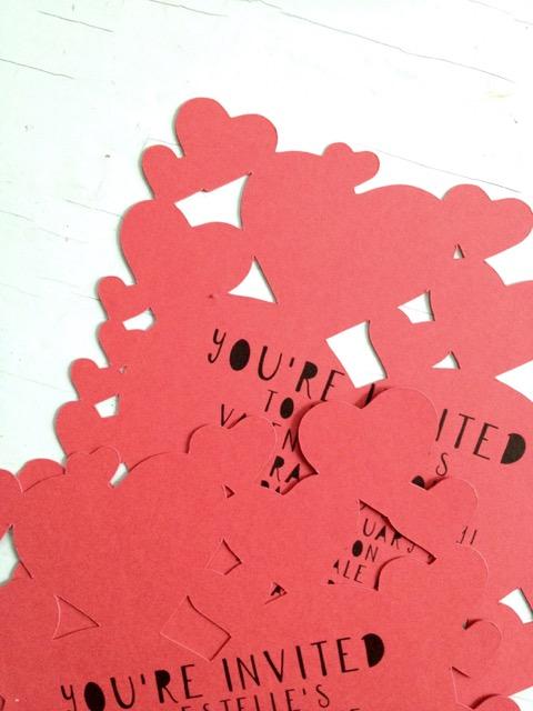 Caitlin Betsy Bell | papercut invitation