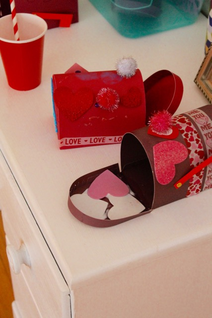 Caitlin Betsy Bell | Valentines Mailboxes