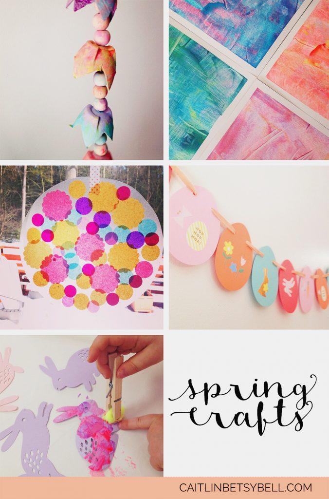 spring crafts Caitlin Betsy Bell