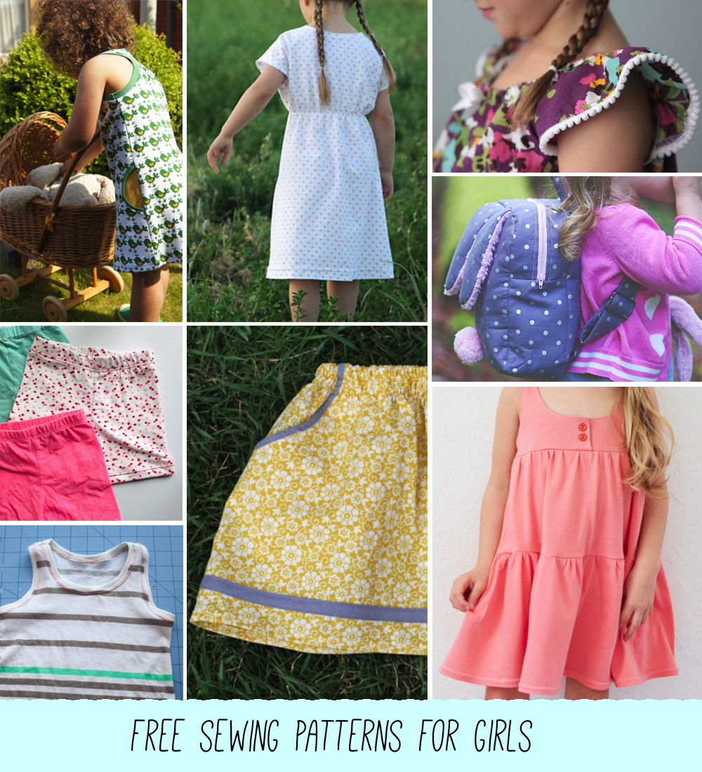 Caitlin Betsy Bell | free sewing patterns for girls